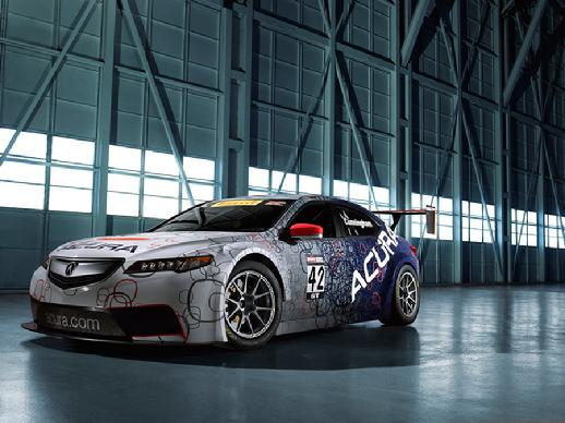 ACURA TLX GT RACE CAR PAUL E. SCHULZ LOCATION SCOUT AND MANAGER